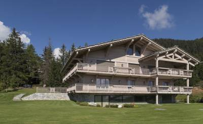 Affitto stagionale Chalet Crans-Montana