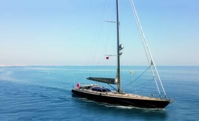 Affitto stagionale Yacht a vela Saint-Tropez