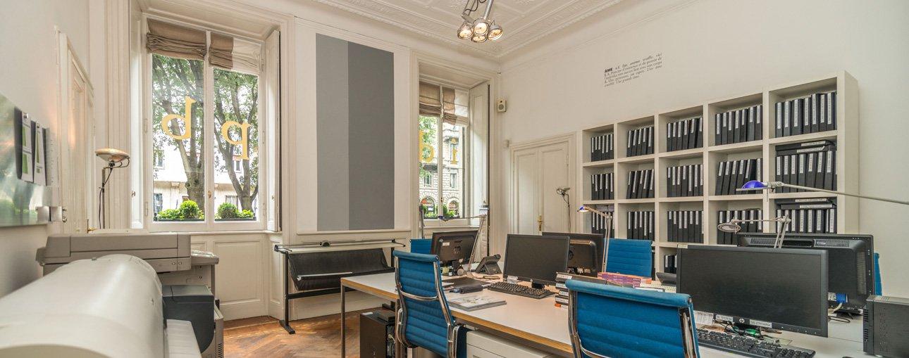 Annuncio affitto ufficio milano 20100 5 camere ref l0741mi for Ufficio affitto eur